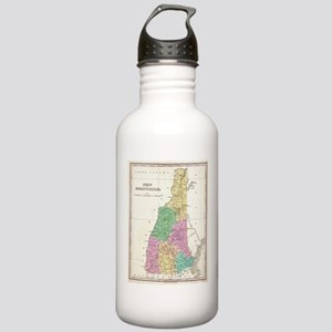 Vintage Map of New Ham Stainless Water Bottle 1.0L