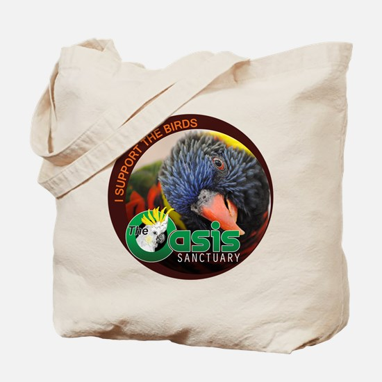 Birds of The Oasis Tote Bag