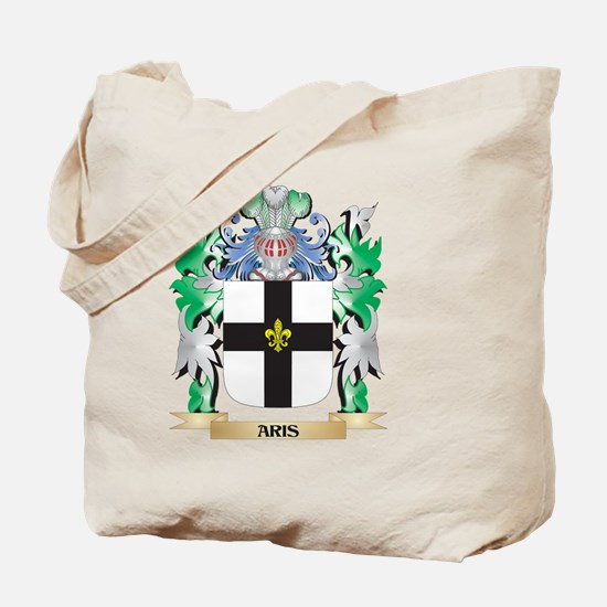 Aris Coat of Arms - Family Crest Tote Bag