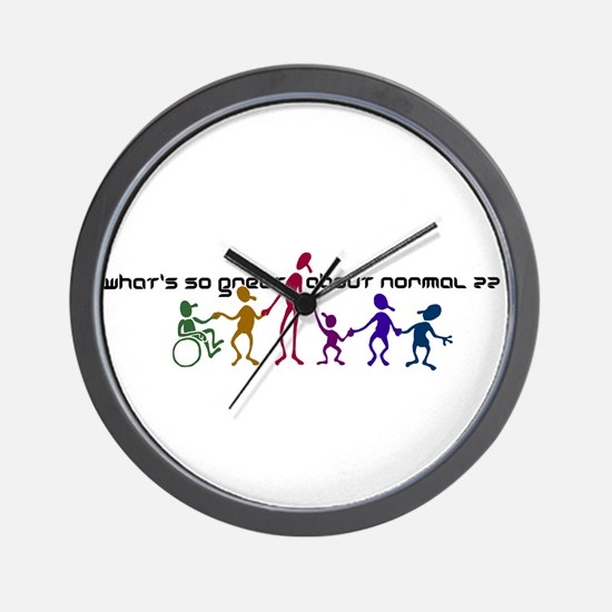 What's So Great Wall Clock