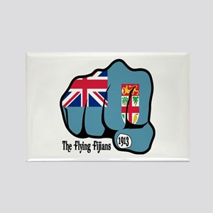 Fijian Fist 1913 Rectangle Magnet