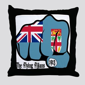 Fijian Fist 1913 Throw Pillow