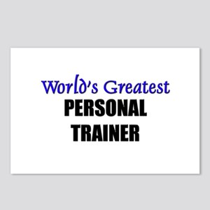 Worlds Greatest PERSONAL TRAINER Postcards (Packag