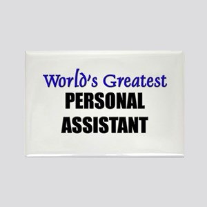 Worlds Greatest PERSONAL ASSISTANT Rectangle Magne