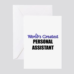 Worlds Greatest PERSONAL ASSISTANT Greeting Cards