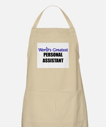 Worlds Greatest PERSONAL ASSISTANT BBQ Apron