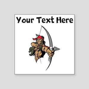 Native American Warrior Sticker