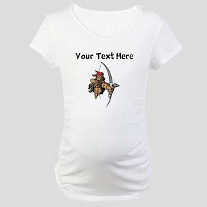 Native American Warrior Maternity T-Shirt