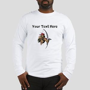 Native American Warrior Long Sleeve T-Shirt