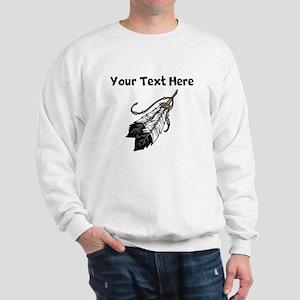 Native American Feathers Sweatshirt