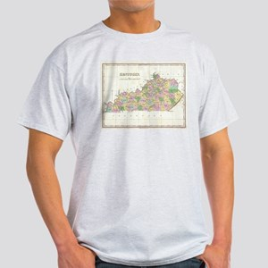 Vintage Map of Kentucky (1827) T-Shirt
