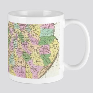 Vintage Map of Kentucky (1827) Mugs