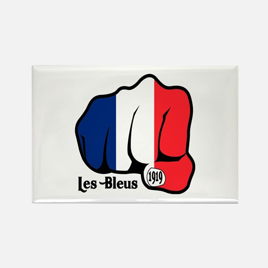 French Fist 1919 Rectangle Magnet (100 pack)