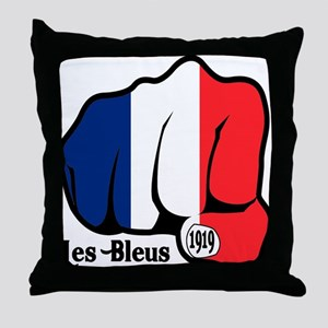 French Fist 1919 Throw Pillow