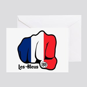 French Fist 1919 Greeting Cards (Pk of 10)