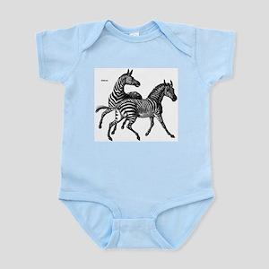 Zebras Wild Animal Infant Creeper