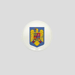 Romanian Coat of Arms Mini Button