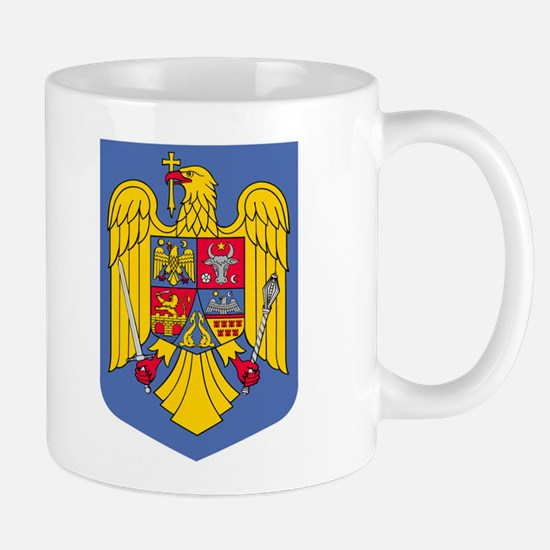 Romanian Coat of Arms Mug