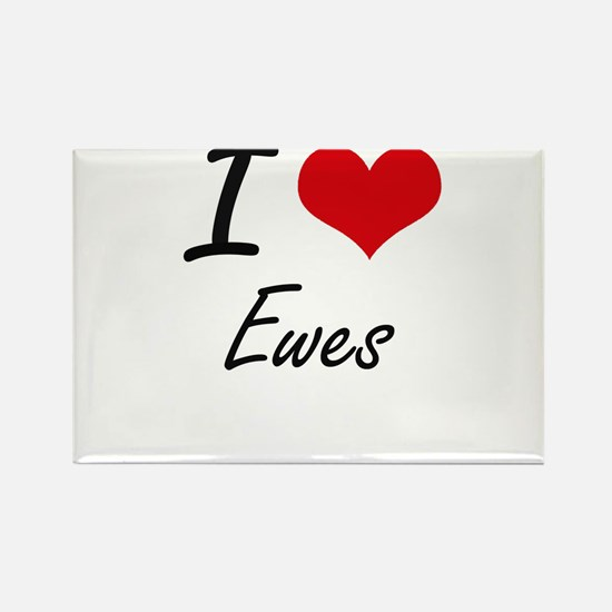 I love EWES Magnets