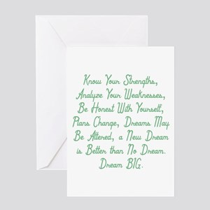 Honesty & Adaptation Greeting Cards