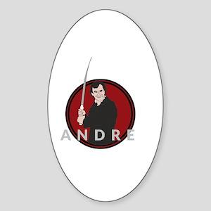 Andre Dimera Sticker (Oval)