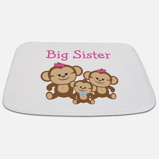 Big Sister With Siblings Bathmat