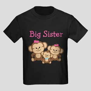 Big Sister With Siblings T-Shirt