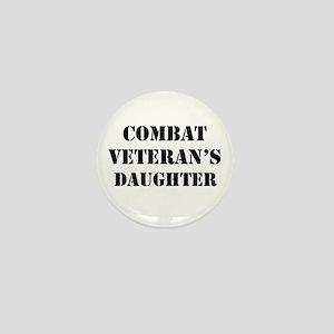 Combat Vet's Daughter Mini Button
