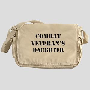 Combat Vet's Daughter Messenger Bag