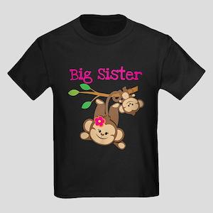 Monkey Big Sis Baby Bro T-Shirt