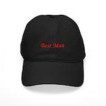 Best Man Black Cap