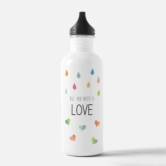 Cute Drops Water Bottle