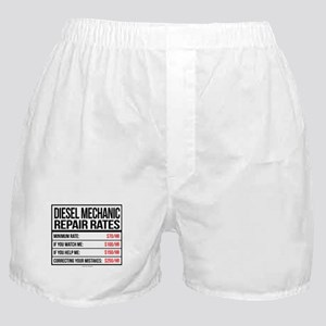 Diesel Mechanic Repair Rates Boxer Shorts