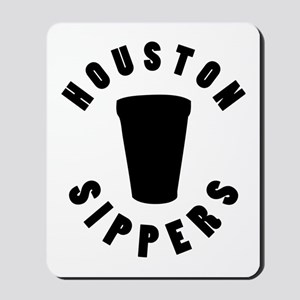 HOUSTON SIPPERS Mousepad