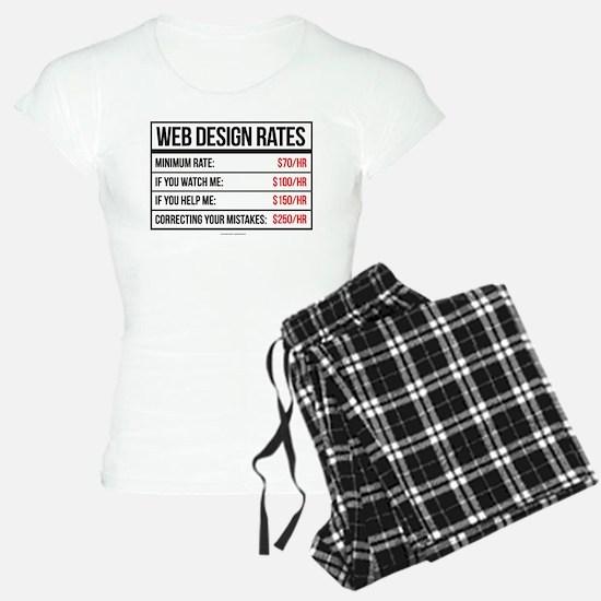 Web Design Rates Pajamas