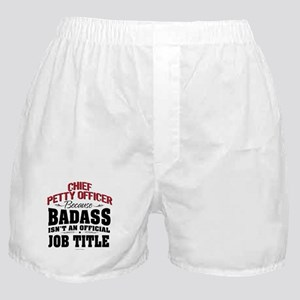 Badass Chief Petty Officer Boxer Shorts