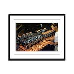 Toaster Tester Framed Panel Print