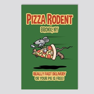 Pizza Rodent Postcards (Package of 8)