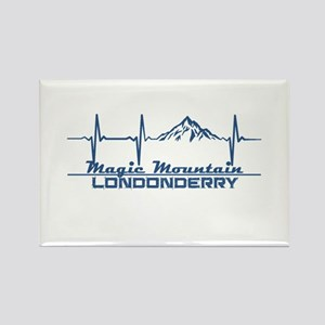 Magic Mountain - Londonderry - Vermont Magnets