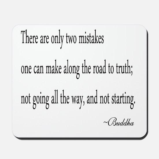 Buddha's Wisdom Mousepad