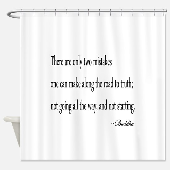 Buddha's Wisdom Shower Curtain