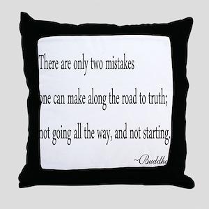 Buddha's Wisdom Throw Pillow