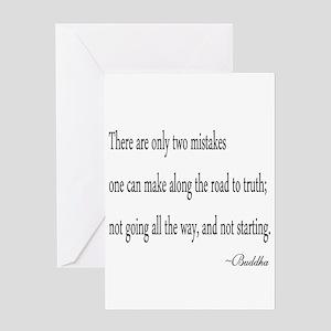 Buddha's Wisdom Greeting Cards