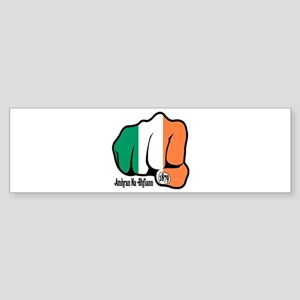 Irish Fist 1879 Bumper Sticker
