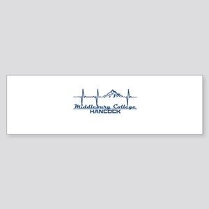 Middlebury College Snow Bowl - Ha Bumper Sticker