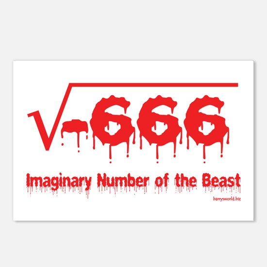 Imaginary Number Postcards (Package of 8)