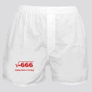 Imaginary Number Boxer Shorts