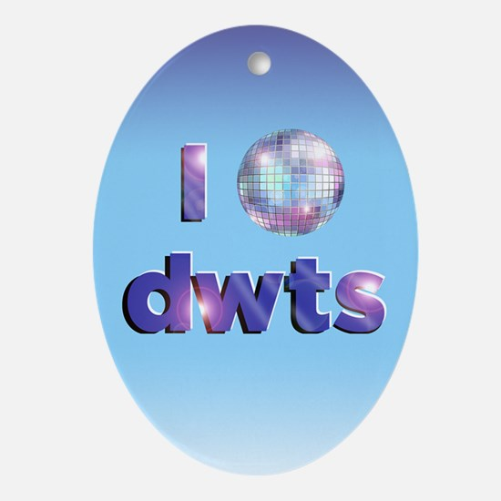 DWTS Dancing With The Stars Oval Ornament