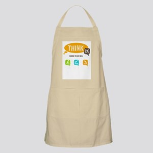 Think Ca Logo Apron