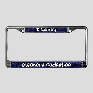 Funky Love Eleonora Cockatoo License Plate Frame